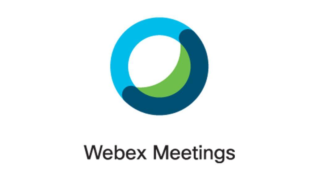 Webex Video Konferenzen