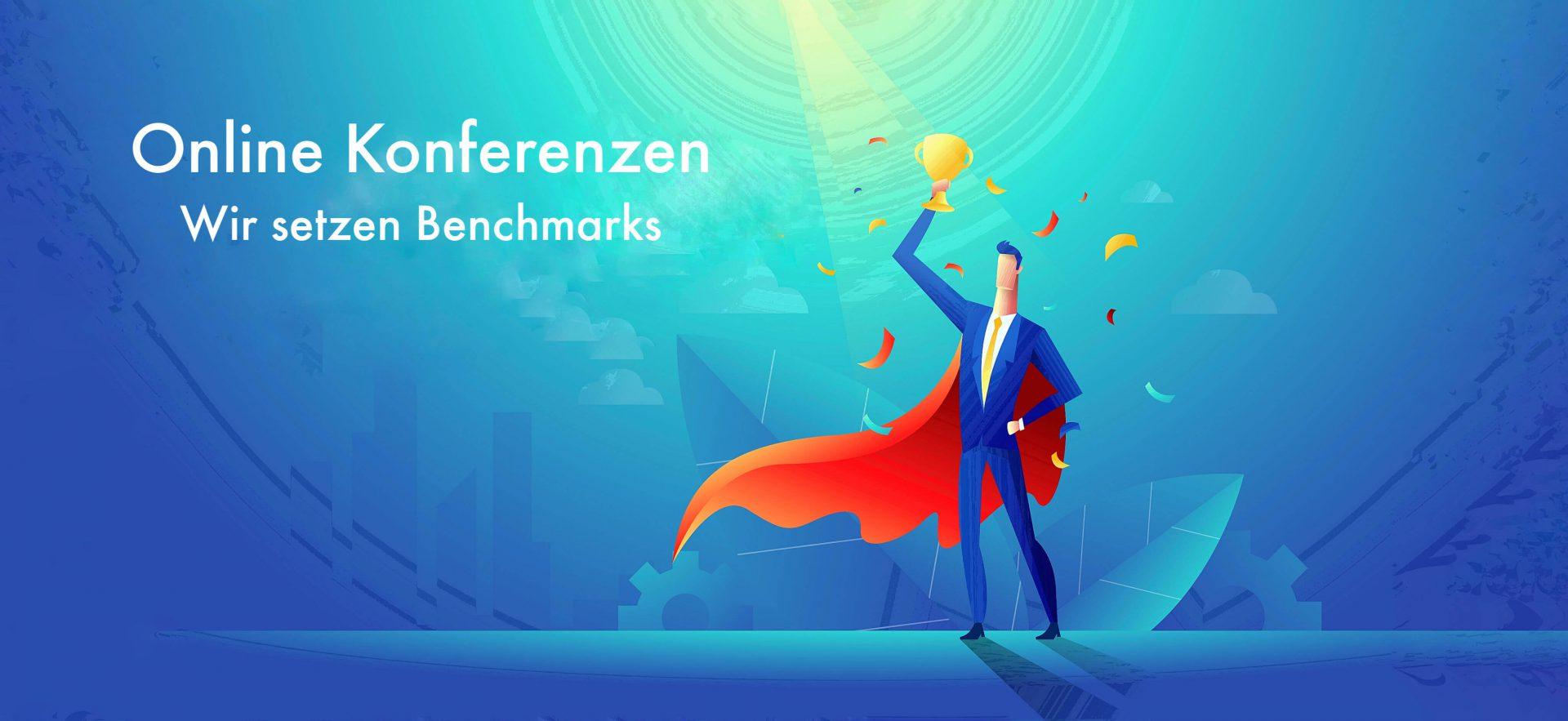 Online Konferenzen Benchmark