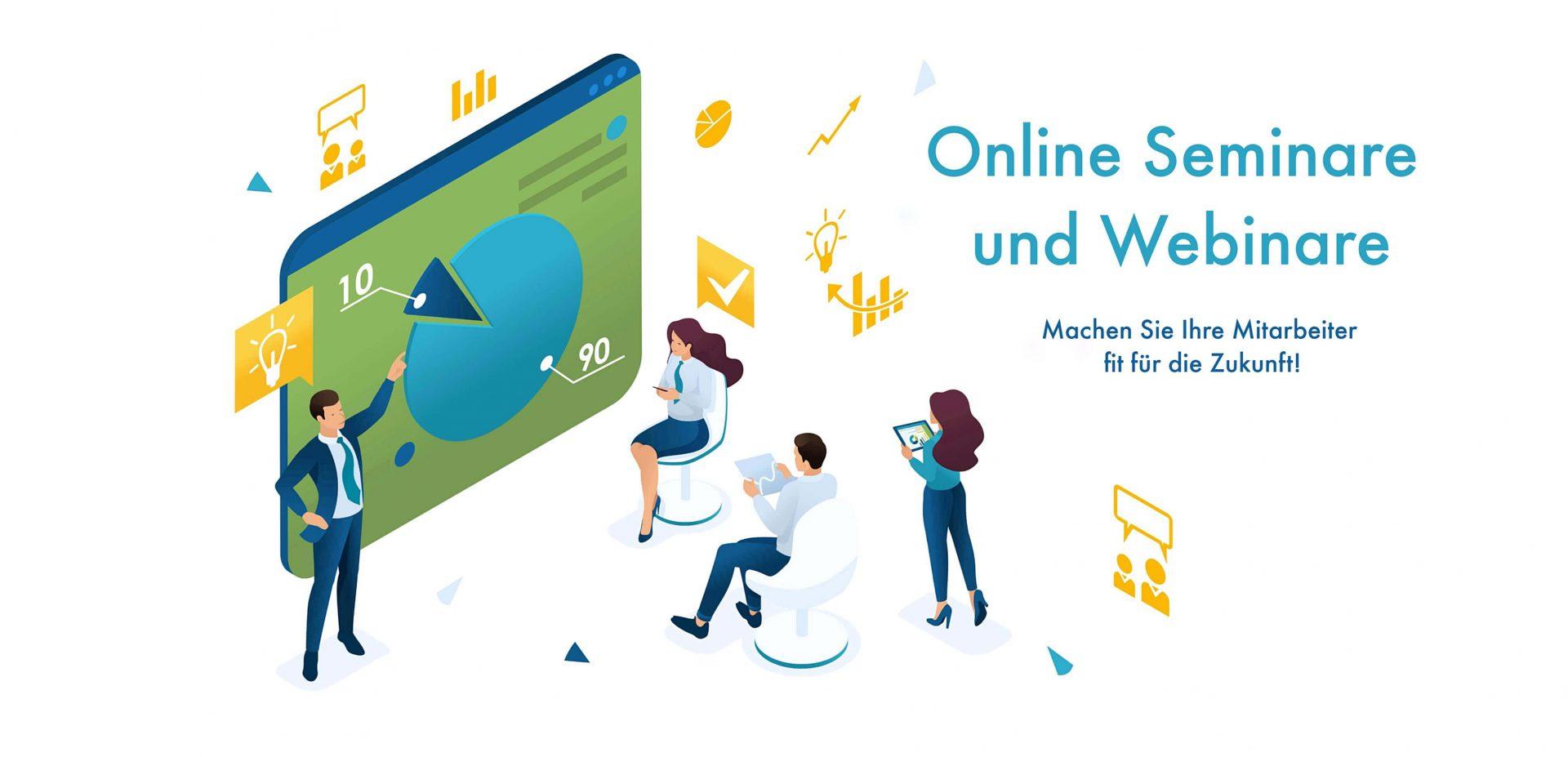 Online Konferenzen und Webinare